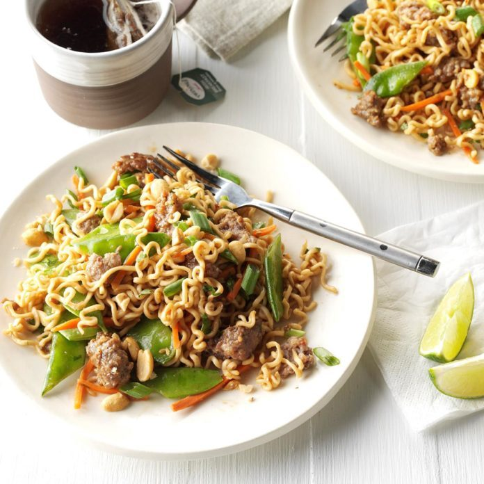 24 Tasty Recipes You Can Make With Ramen Noodles Taste Of Home