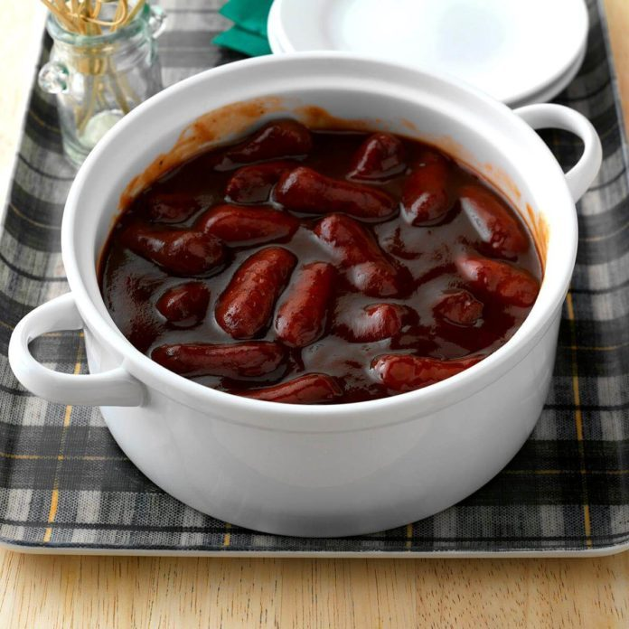 Day 31: Slow-Cooked Smokies