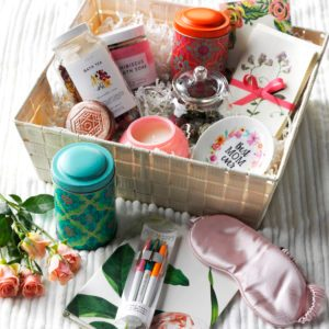 DIY Spa Gift Basket Idea for Mom