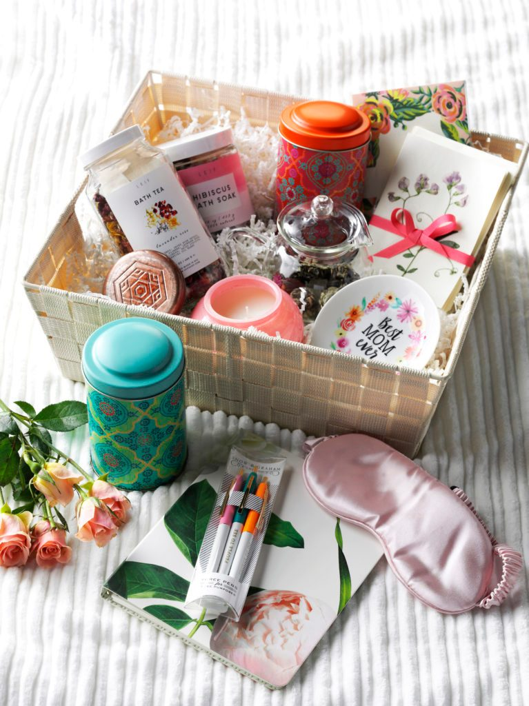 diy spa gift basket idea for mom taste of home