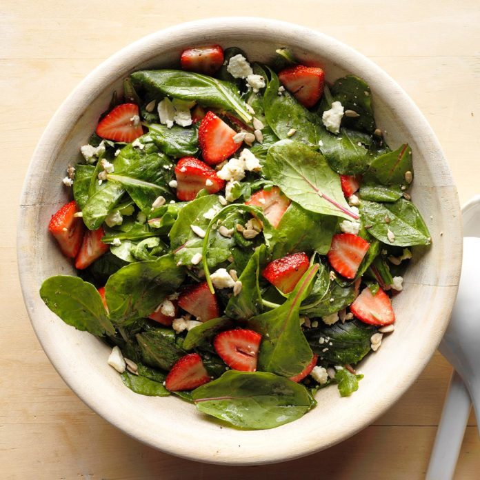 Strawberry-Feta Tossed Salad