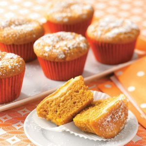 Surprise Pumpkin Cupcakes