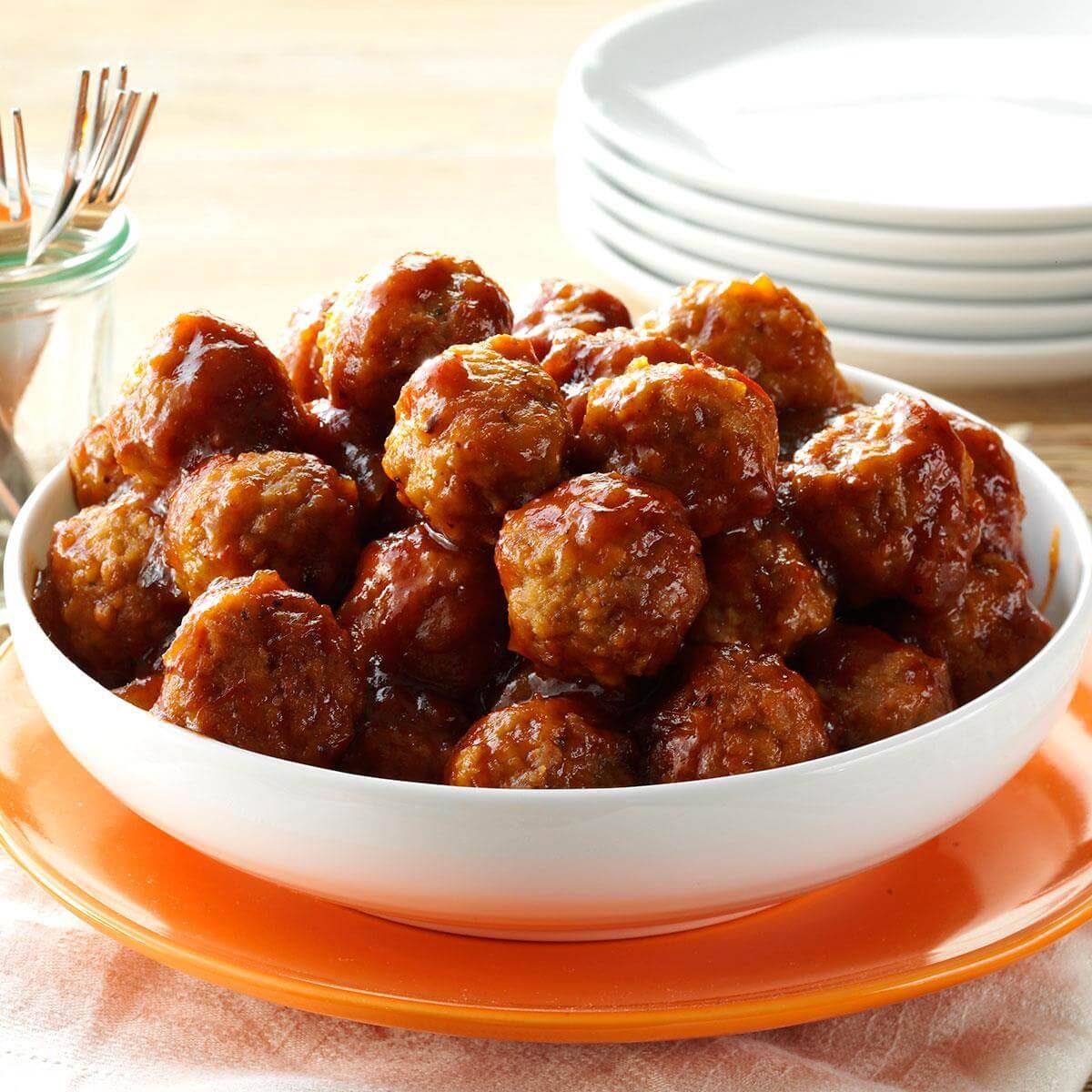Tangy Glazed Meatballs Recipe