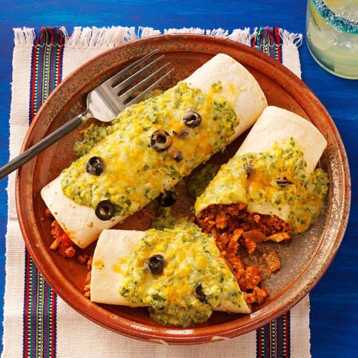 Terrific Turkey Enchiladas