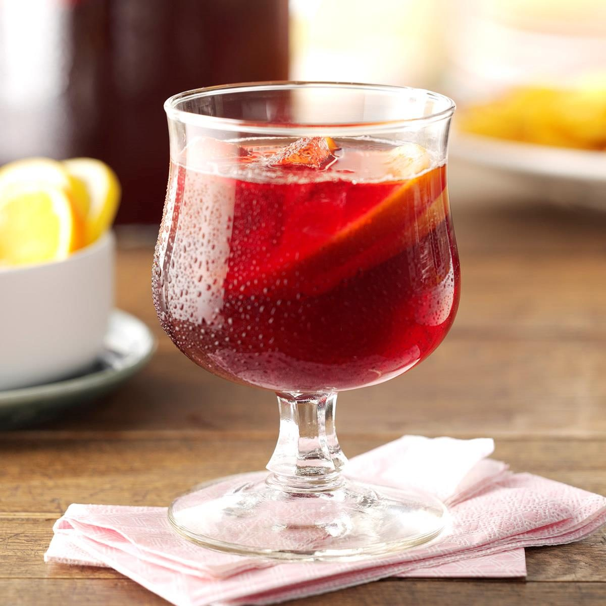 Topsy turvy sangria recipe taste of home thecheapjerseys Choice Image