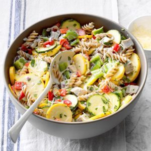 6 Tiny Tweaks to Make Healthy Pasta Salad