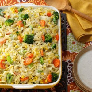 Vegetable Noodle Casserole