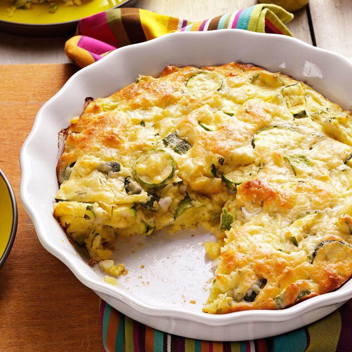 Watch Us Make: Zucchini Onion Pie | Taste of Home