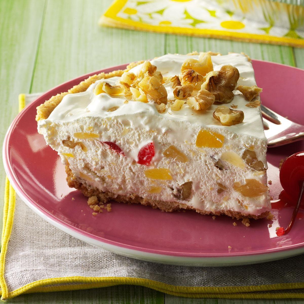 Freezer Pie: Frozen Hawaiian Pie Recipe