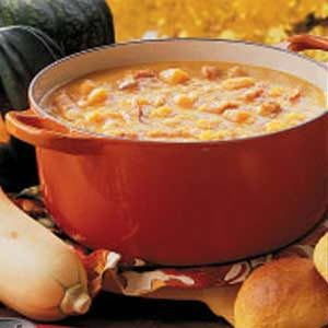 Navy Bean Squash Soup
