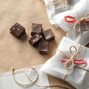Double Chocolate Walnut Fudge