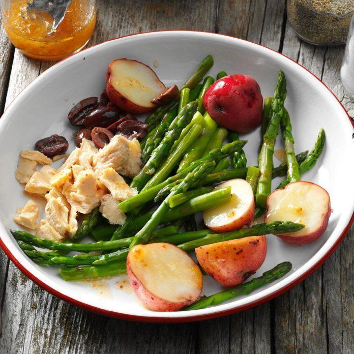 Asparagus Nicoise Salad