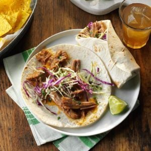 Sweet & Sour Pork Wraps