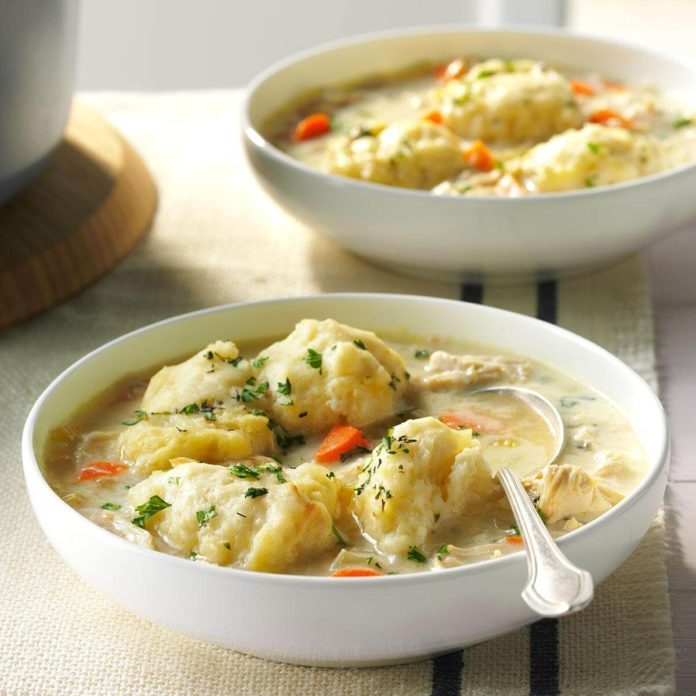 Country Chicken and Dumplings