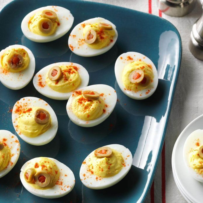Makeover Deviled Eggs
