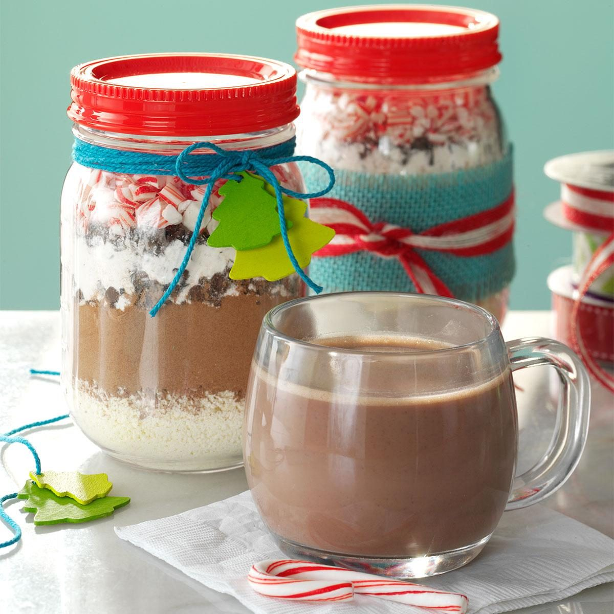 Candy Cane Hot Cocoa Mix Recipe | Taste of Home