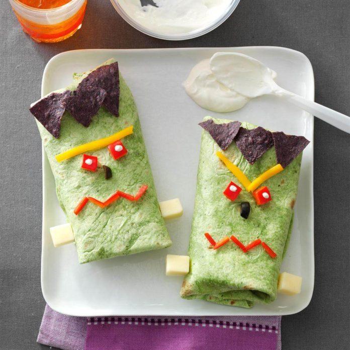 Frankenstein Boo-ritos