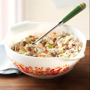 Blue Cheese & Grape Coleslaw