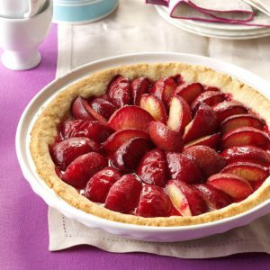 German Plum Tart