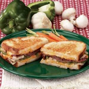 Contest-Winning Grilled Roast Beef Sandwiches