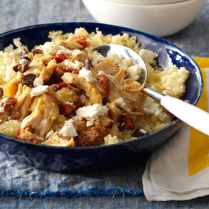 Greek Garlic Chicken