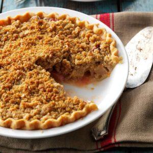 Strawberry/Rhubarb Crumb Pie