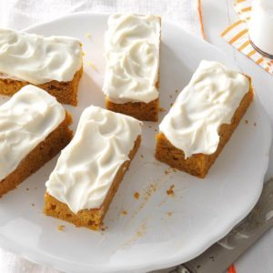 20 Easy, Dreamy Pumpkin Bars