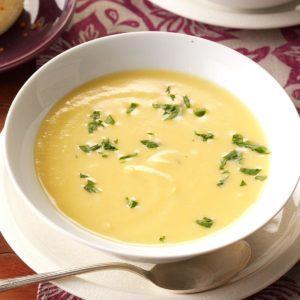Cream of Butternut Squash Soup