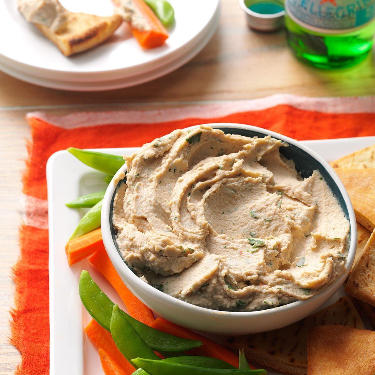 Cannellini Bean Hummus Recipe