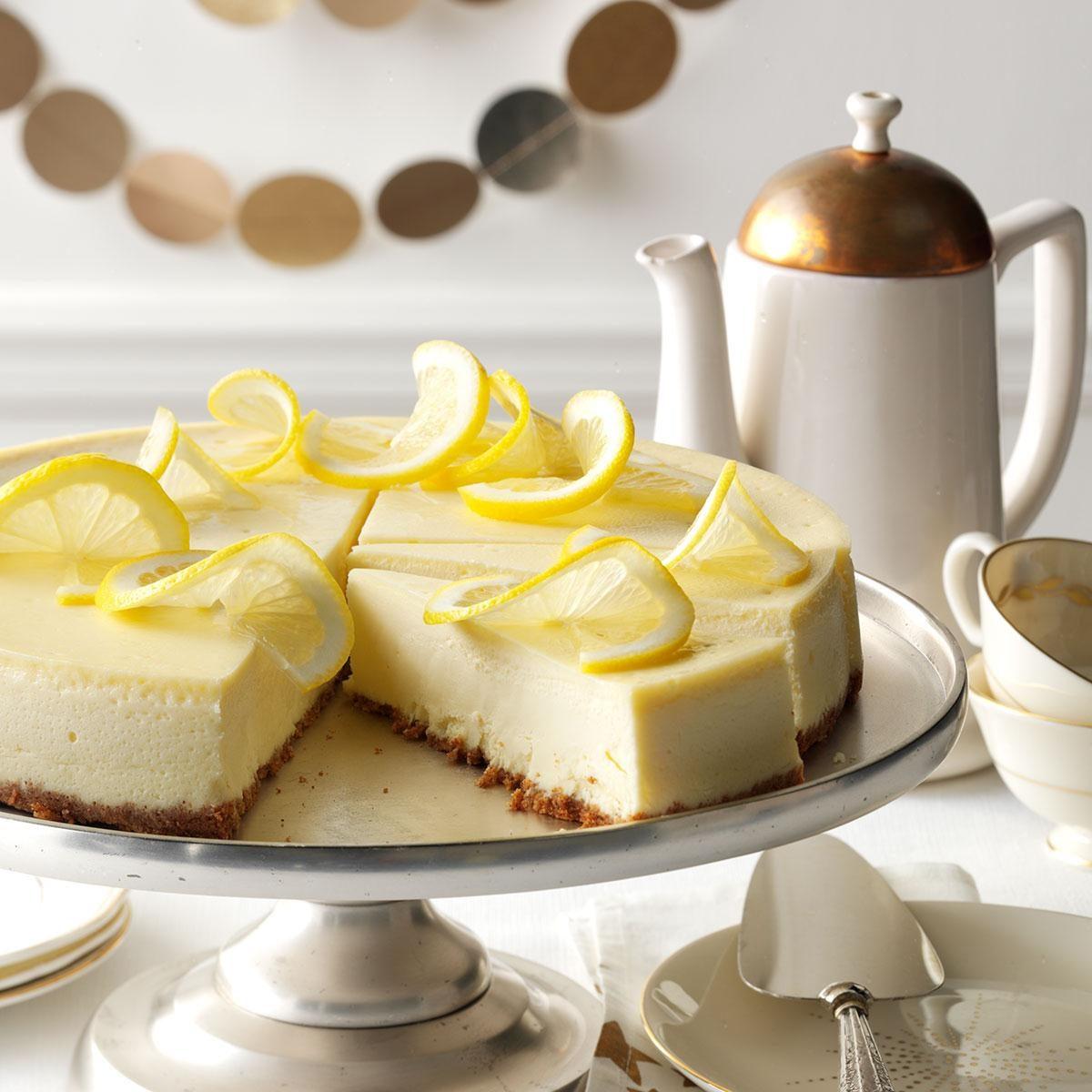 25 Creamy Lemon Desserts We Love