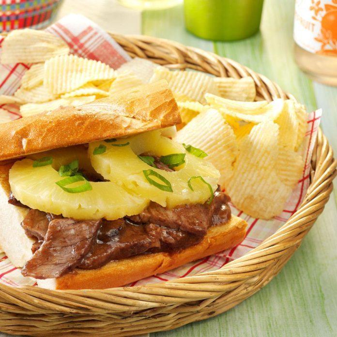 Teriyaki Sandwiches