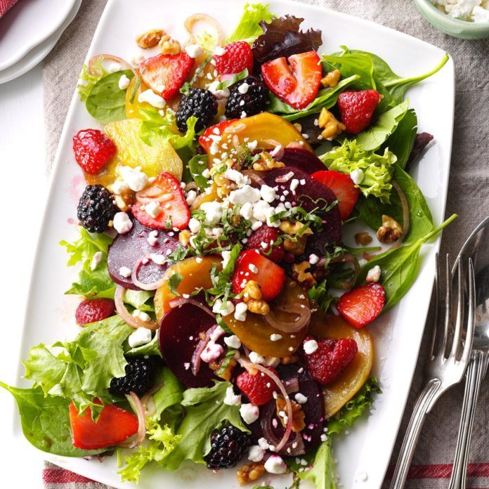 Berry-Beet Salad