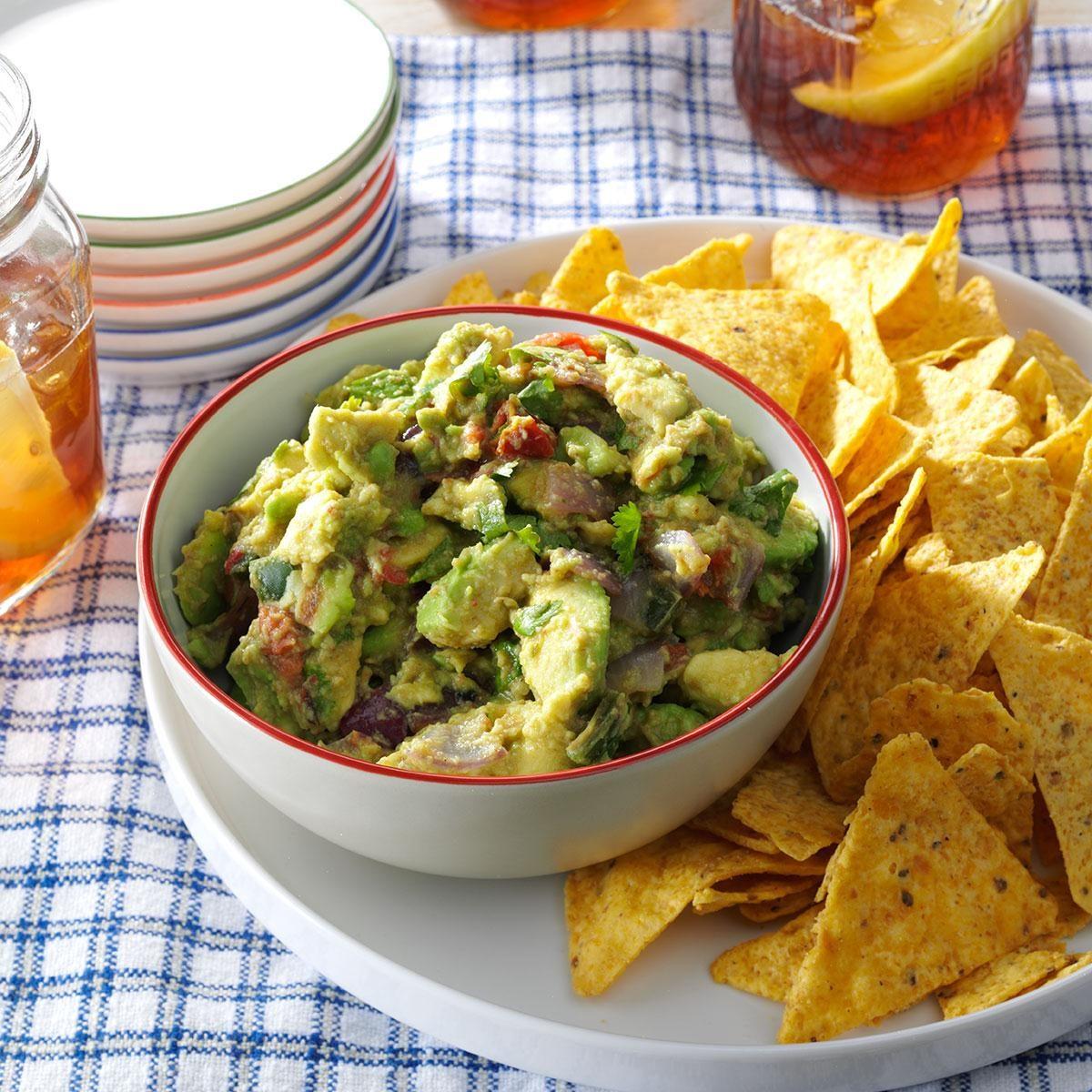Grilled Guacamole Recipe