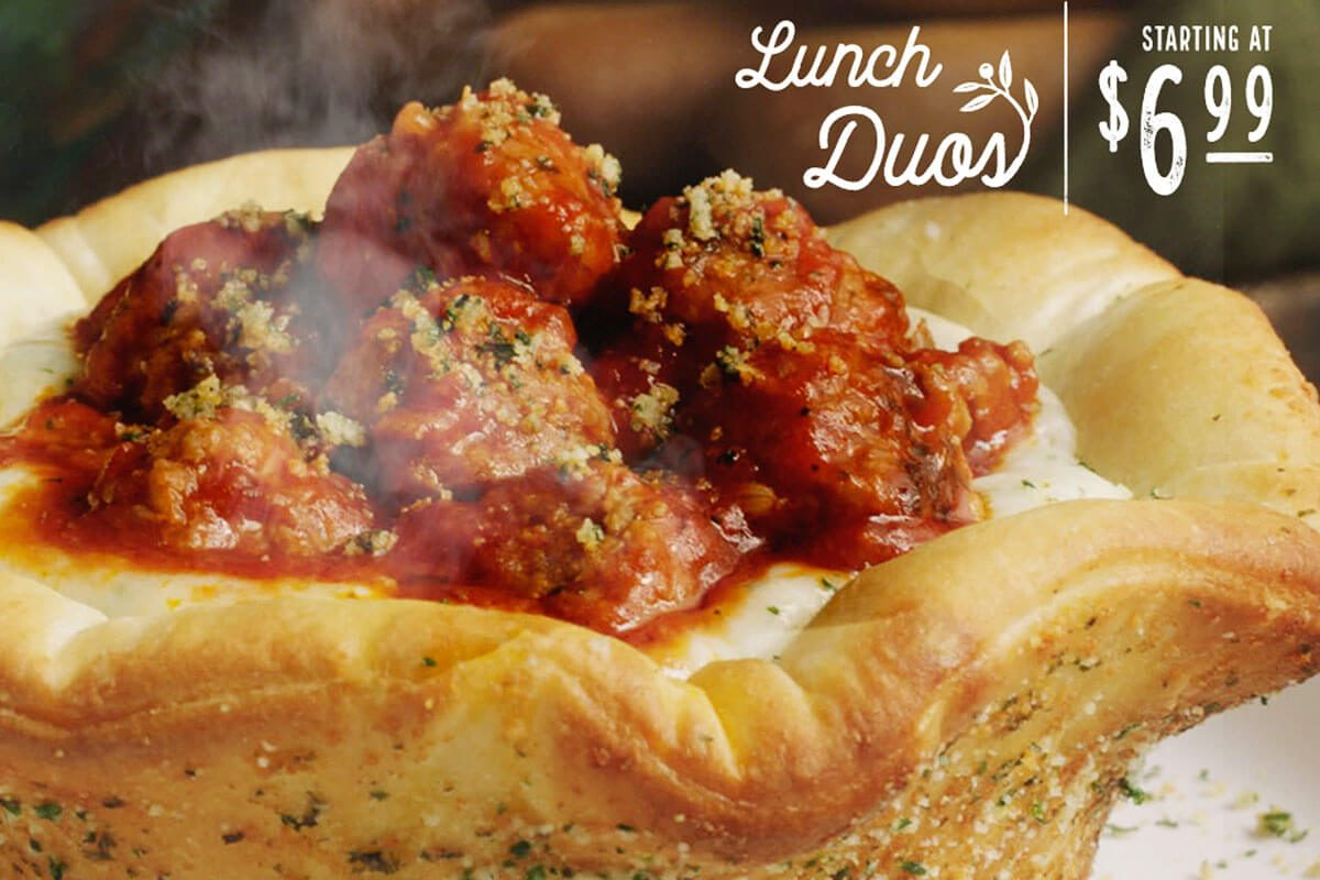 Menu For Olive Garden: Olive Garden's Newest Menu Item Is The Meatball Pizza Bowl