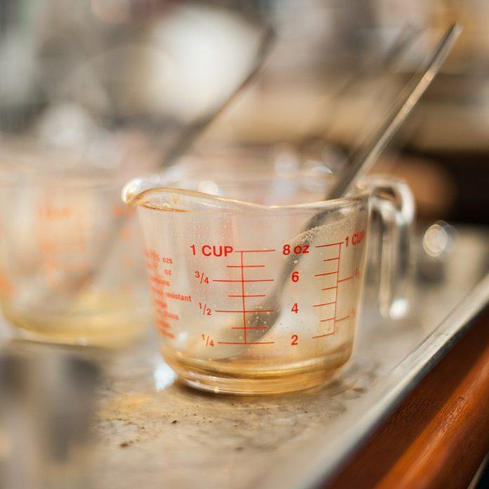 Volumetric measuring cup; Shutterstock ID 188866007