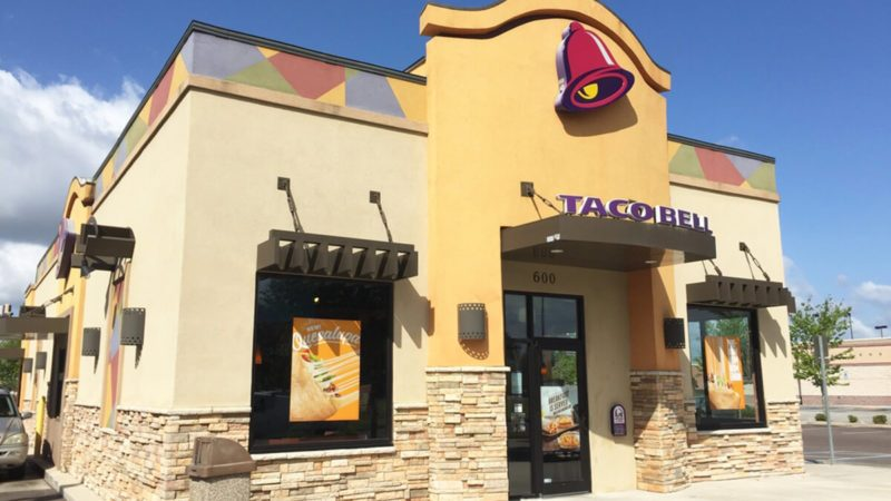 JACKSONVILLE, FL-APRIL 10, 2016: New Taco Bell restaurant