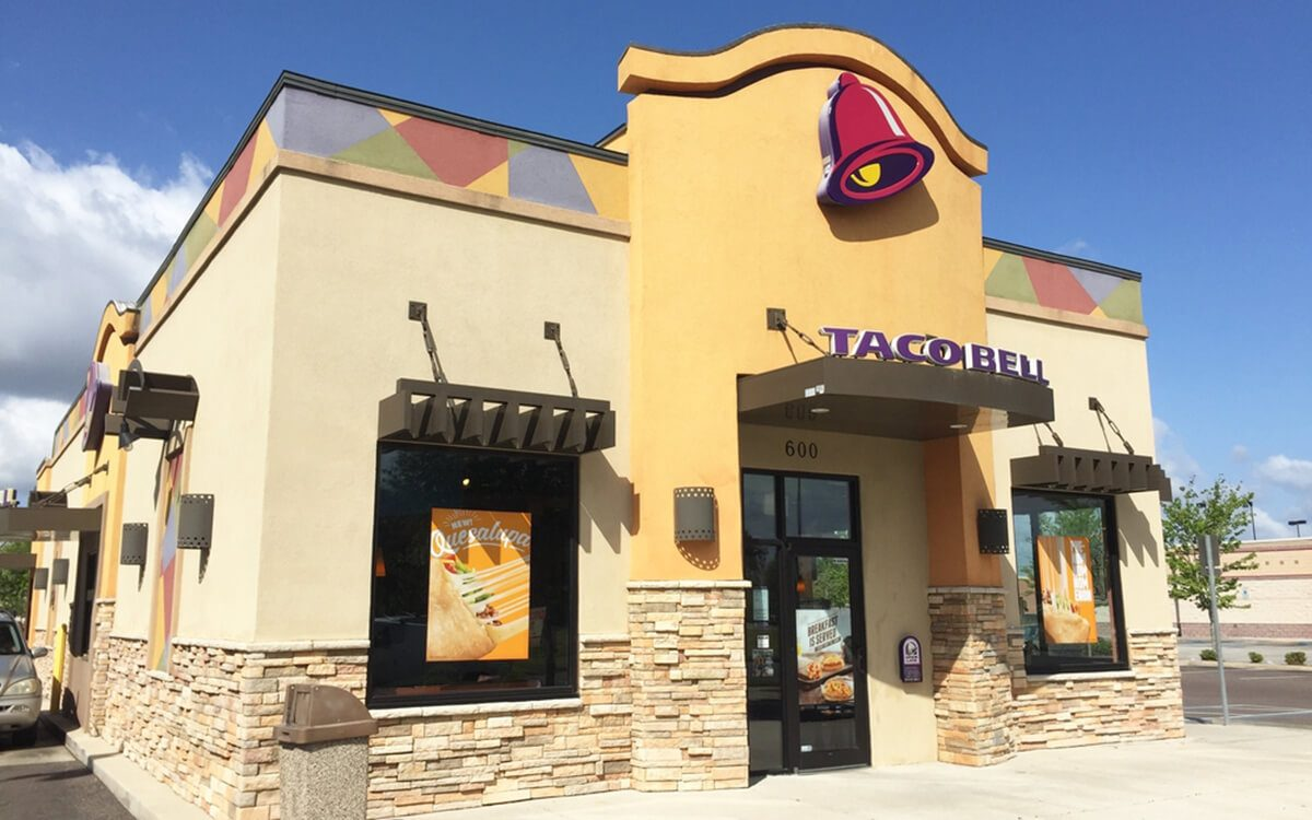 Healthiest Fast Food Restaurant Taco Bell