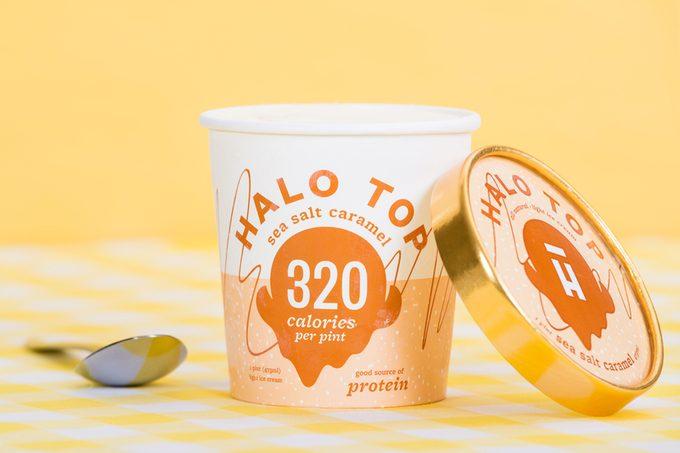 ice cream, halo