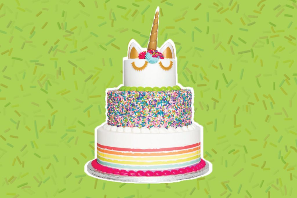 ad3d049de4 Sam s Club Is Now Selling a 3-Tier Unicorn Cake and We re Loving It
