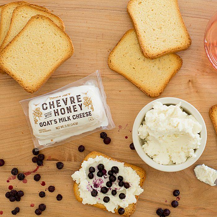Trader Joe's chèvre cheese.