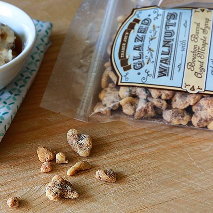 Trader Joe's bag of nuts.