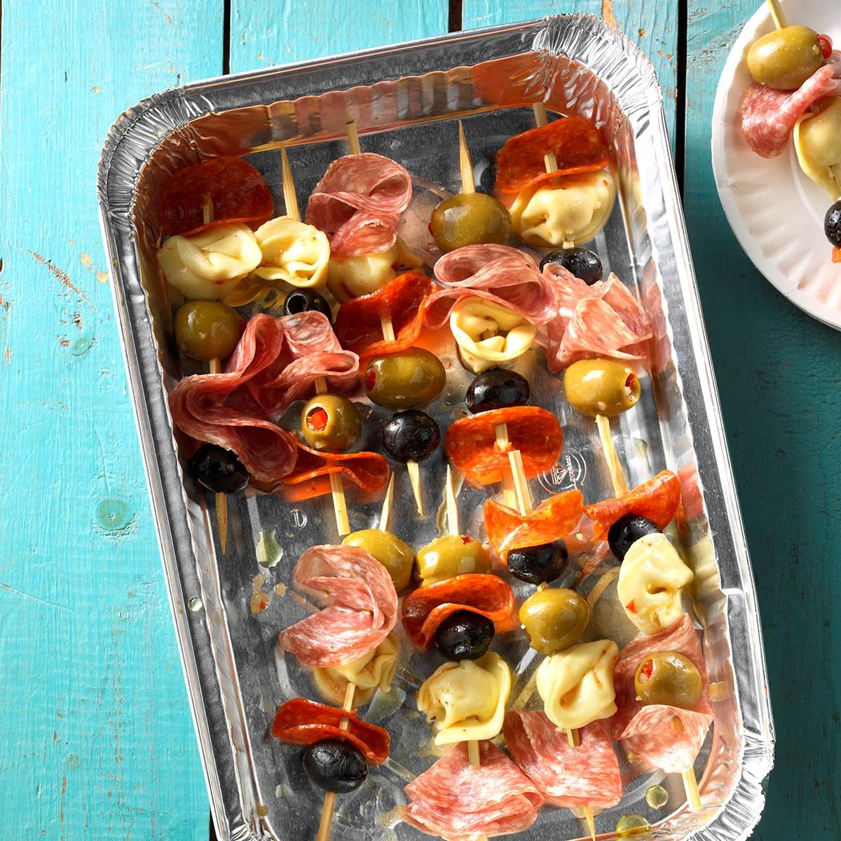 Finger Foods For Parties: Antipasto Kabobs Recipe