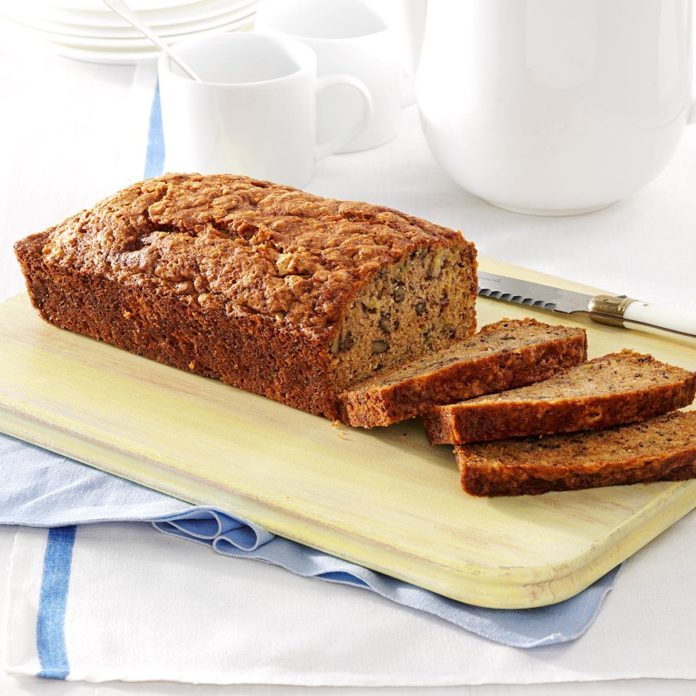 Banana zucchini bread recipe taste of home banana zucchini bread forumfinder Image collections