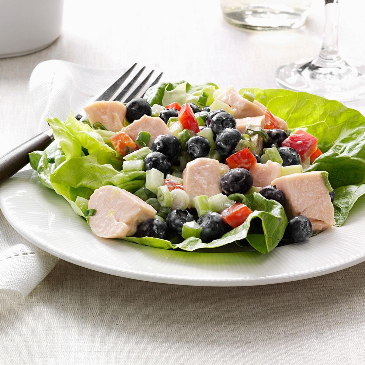 Blueberry Chicken Salad Recipe Taste Of Home