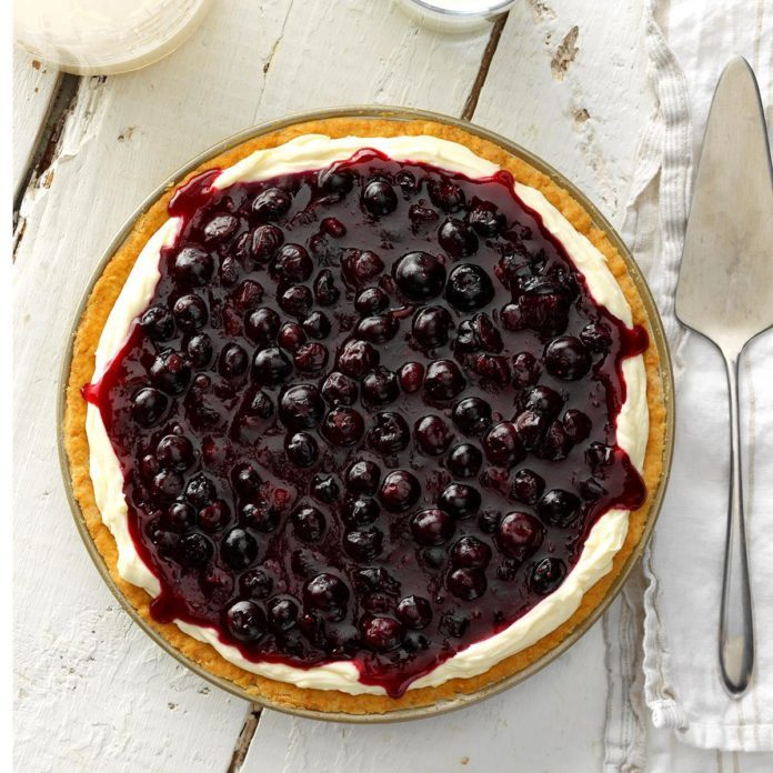 Cheese Huckleberry Pie