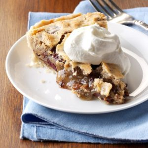 Cherry Chocolate Pecan Pie