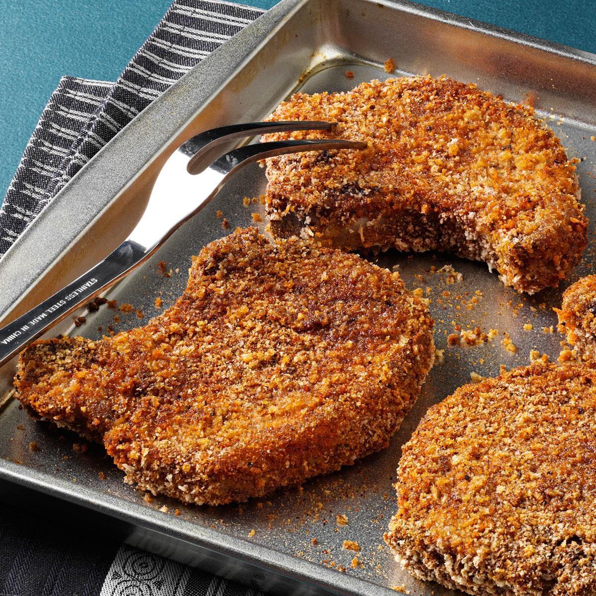 Chili-Spiced Pork Chops Recipe