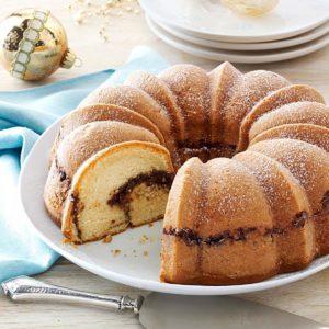 Chocolate-Apricot Coffee Cake