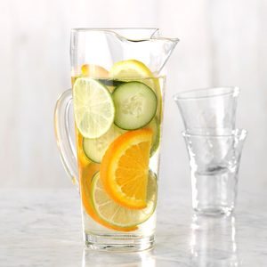 Citrus and Cucumber Infused Water
