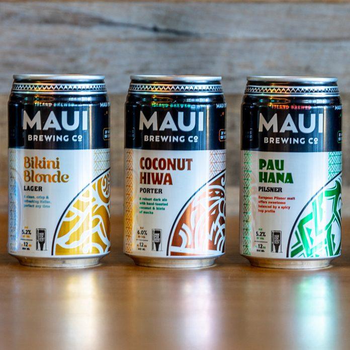 Coconut Hiwa Porter_Maui Brewing Co